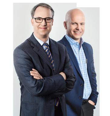 Frank Danielson and Ray Glicksohn