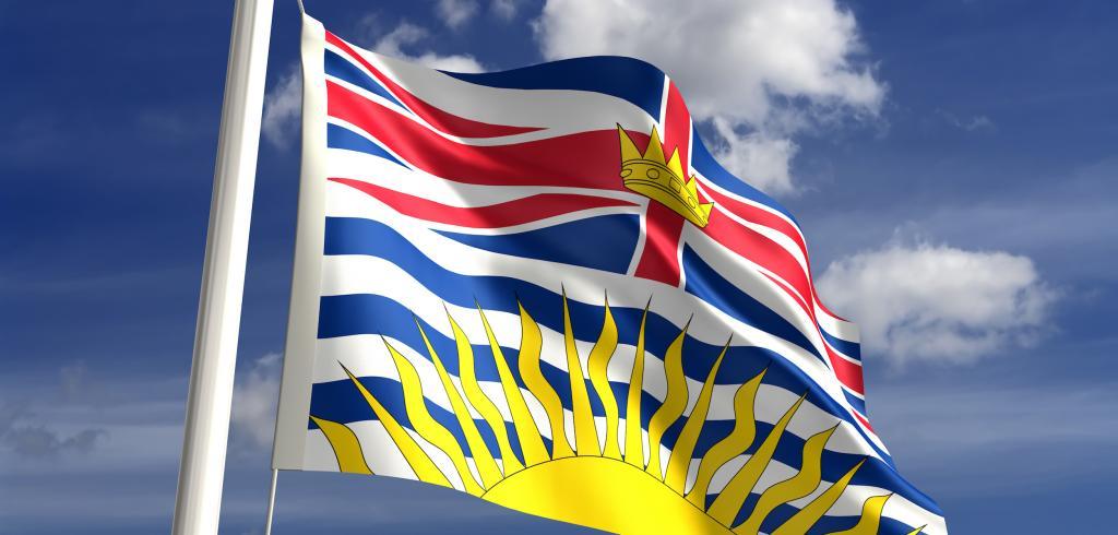 British Columbia flag