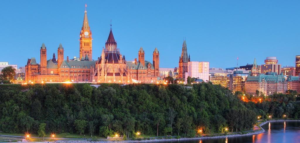 Colline du Parlement Ottawa Canada