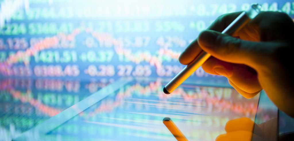 Chart showing market volatility