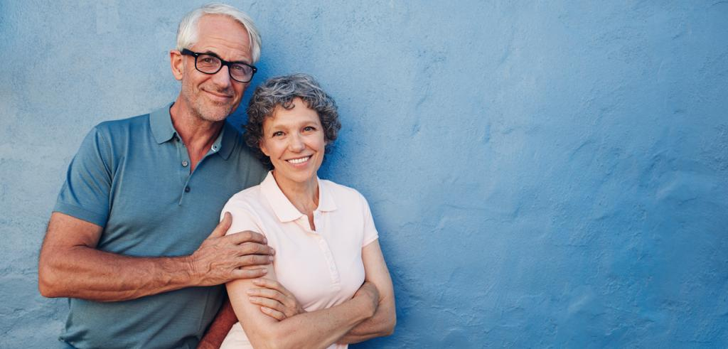Portrait of retired couple